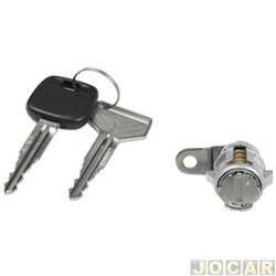 Cilindro da chave da porta - Hilux 1994 até 2004 - lado do passageiro - cada (unidade)