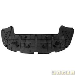 Defletor protetor inferior para-choque - importado - C4 2004 até 2011 - preto - cada (unidade) - 28105