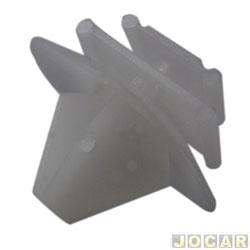 Grampo da moldura do para-lama - Citroen - C3 /2012-Berlingo-Peugeot - 206/307 - cada (unidade)