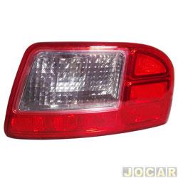 Lanterna do para-choque - Fitam - Citroën C3 Aircross 2010 até 2015/C3 Picasso 2011 em diante - com luz de ré - traseiro - lado do passageiro - cada (unidade) - 34094-D