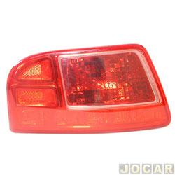 Lanterna do para-choque - Fitam - Citroën Aicross 2010 até 2015/C3 Picasso 2011 em diante - sem luz de ré - traseiro - lado do motorista - cada (unidade) - 34094-E