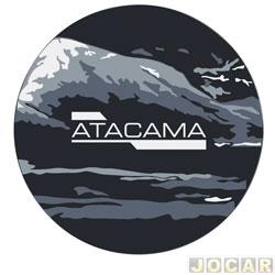 Capa de estepe - Comix Acessórios - AirCross 2010 até 2015 - Atacama - cada (unidade) - CC611