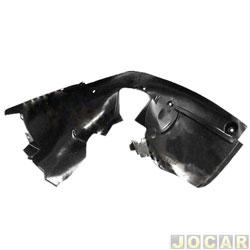Para-barro do para-lama dianteiro - importado - Citroen C4 2003 até 2012 - lado do passageiro - cada (unidade) - 63575