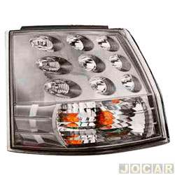 Lanterna traseira - alternativo - Depo - Outlander 2007 até 2012 - canto - lado do motorista - cada (unidade) - 19975