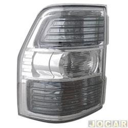 Lanterna traseira - Depo - Pajero Full 2008 até 2014 - 4 portas - lado do passageiro - cada (unidade) - 64709
