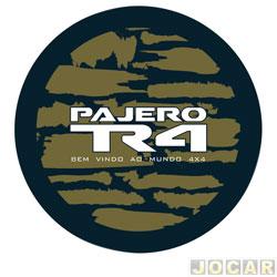 Capa de estepe - Comix Acessórios - Pajero TR4 2002 em diante - camouflage - cada (unidade) - CC850