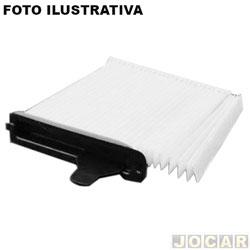 Filtro da cabine - Filtros Brasil - Tiida/Livina - 2011 em diante - cada (unidade) - 1072