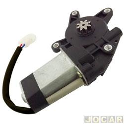 Motor da máquina de vidro - alternativo - encaixe Mabuchi - universal - 8 dentes - lado do passageiro - cada (unidade)