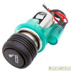 Acendedor de cigarros - alternativo - luz e anel verde - cada (unidade)