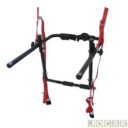 Suporte para bicicleta - Equipage - fixado no porta-malas - cada (unidade) - 12011220