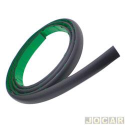 Protetor do para-choque - alternativo - universal - cola - 3 metros - preto - cada (unidade)