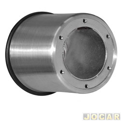 Cubo para volante - Wega - Del Rey - Pampa - capa de alumínio - cada (unidade) - WP-119