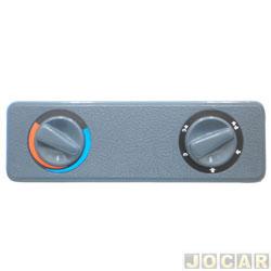 Tampa buraco do rádio - Autopoli - cd - frente removivel - imita o botão do ar - cinza - cada (unidade) - AP133