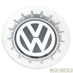 Calota do centro da roda Volkswagen - alternativo - Polo 2003  até  2006 - roda de aluminio - aro 14 - cada (unidade)