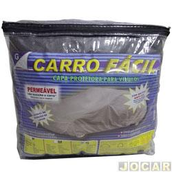 Capa de carro - Corolla/ Montana/ Santana/ Saveiro/ Vectra sedan/ Bora - Auto F�cil -perme�vel-para garagem coberta-grande - cada (unidade)