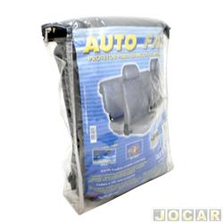 Capa protetora - Bezi - banco auto fácil - modelos baixo com apoio de cabeça - preto - jogo - 701364