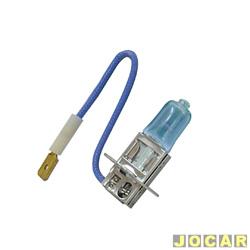 L�mpada do farol - importado - H3 - para milha - branca - usar rel� - cada (unidade) - 701381