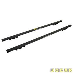 Travessa para rack longitudinal - Equipage - 130cm - encaixa em racks longitudinais - par - 01018365