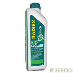Aditivo para radiador - Radiex - Bio coolant super concentrado - MCT plus verde - 1 Litro - cada (unidade) - R-1882