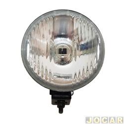 Farol de milha - alternativo - Orgus - universal - redondo XR3 - sem suporte - cada (unidade) - YU-26