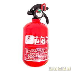 Extintor de incêndio - Resil - pó ABC 4 polegadas - 1kg - leia a descrição detalhada - cada (unidade) - 701663