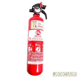Extintor de incêndio - Resil - pó ABC 3 polegadas - 1kg - leia a descrição detalhada - cada (unidade) - 701664