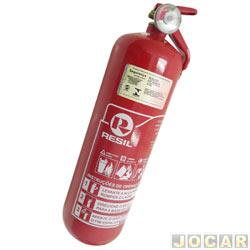 Extintor de incêndio - Resil - pó ABC - 2 kg - caminhão/pick-up - ler descrição detalhada - cada (unidade) - 701665