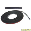 Friso colante - alternativo - UNIVERSAL - 9 metros-largo 14mm - c/filete cromado - preto - cada (unidade)