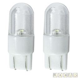 Lâmpada de Led - Autopoli - esmagada grande - led branco - par - AP712
