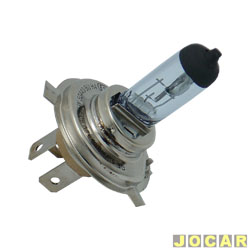 L�mpada do farol - GE (General Electric) - H4 - farol principal -Super Blue (luz mais branca) - cada (unidade) - 50440BU