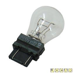 Lâmpada - Osram Sylvania - 2 polos base de plástico - esmagada - cada (unidade) - 3157 P27/7W