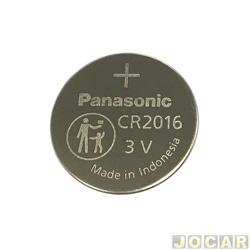 Bateria - Pósitron - Lithium p/alarme 3v - cada (unidade) - CR2016