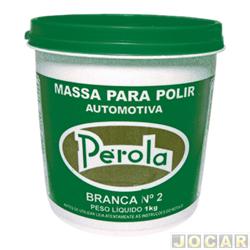 Massa de polir - P�rola - n�2 - 1 kg - cada (unidade) - 040501