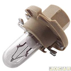 Lâmpada - Osram Sylvania - base de plástico bege para painel - BX8,4D - 1,5W - cada (unidade) - 2452MFX6 BG