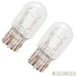 Lâmpada - Osram Sylvania - 2 polos base de vidro - esmagada - cada (unidade) - 7515 W21/5