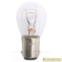 Lâmpada - Osram Sylvania - 2 polos - pinos na mesma altura - cada (unidade) - 7240 P21/5W