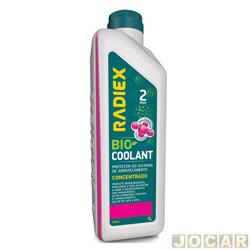 Aditivo para radiador - Radiex - rosa - Bio coolant concentrado para 2 anos - 1 Litro - cada (unidade) - R-1952
