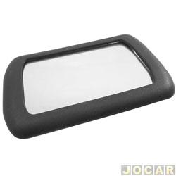 Retrovisor interno - Alternativo - maquiagem - sd autoplast - preto - cada (unidade)