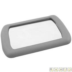 Retrovisor interno - alternativo - maquiagem - sd autoplast - cinza - cada (unidade)