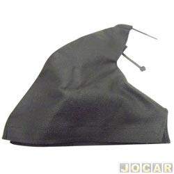 Coifa da alavanca do freio de mão - alternativo - universal - napa-preta - cada (unidade)