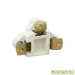 Soquete do farol - alternativo - sem fio - encaixe de pressão - cada (unidade)
