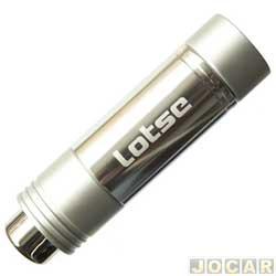 Manopla do freio de mão - Lotse - cromado - cada (unidade) - MFBEC100