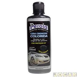 Cera - Pérola - colorida - 250 ml - preta - cada (unidade) - 161603
