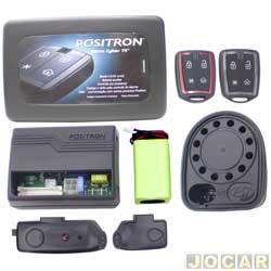 Alarme para caminhões - Pósitron - Cyber TX - com sirene e sensor de presença - cada (unidade) - 010.728.000