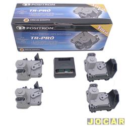 Trava elétrica - Pósitron - Sandero 2007 até 2011 / Logan 2007 até 2013 - TR-Pró - instalação original - jogo - 011216002