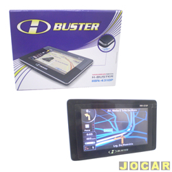 GPS (navegador) - H-BUSTER - HBN-4310P - ULTRASLIM 8MM - cada (unidade)