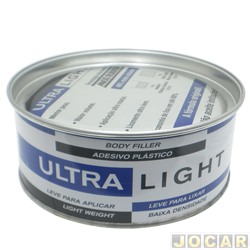 Massa plástica - Maxi Rubber ultra light - 495g - cada (unidade)