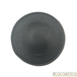 Capa parafuso Revestimento - alternativo - preta - cada (unidade)