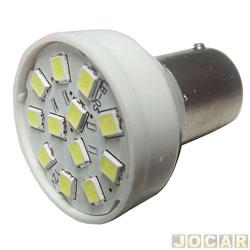 Lâmpada de Led - Autopoli - Lanterna 1 polo - com 12 leds SMD - pinos diferentes - par - AP349