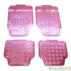 Tapete tuning - importado - universal - rosa - jogo